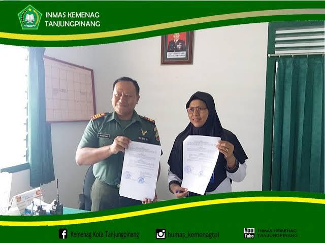 Jelang Ramadhan, Dandim 0315/Bintan Melalui Danramil 01 Ajak Warga Tanjungpinang Jaga Toleransi dan Persatuan