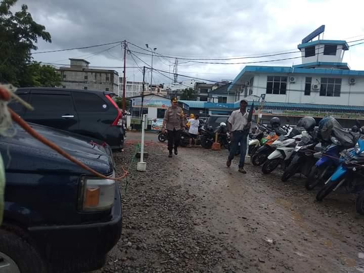 Polsek KKP Pelabuhan SBP Siap Mendukung Kelancaran Arus Mudik Idul Fitri 1440 H