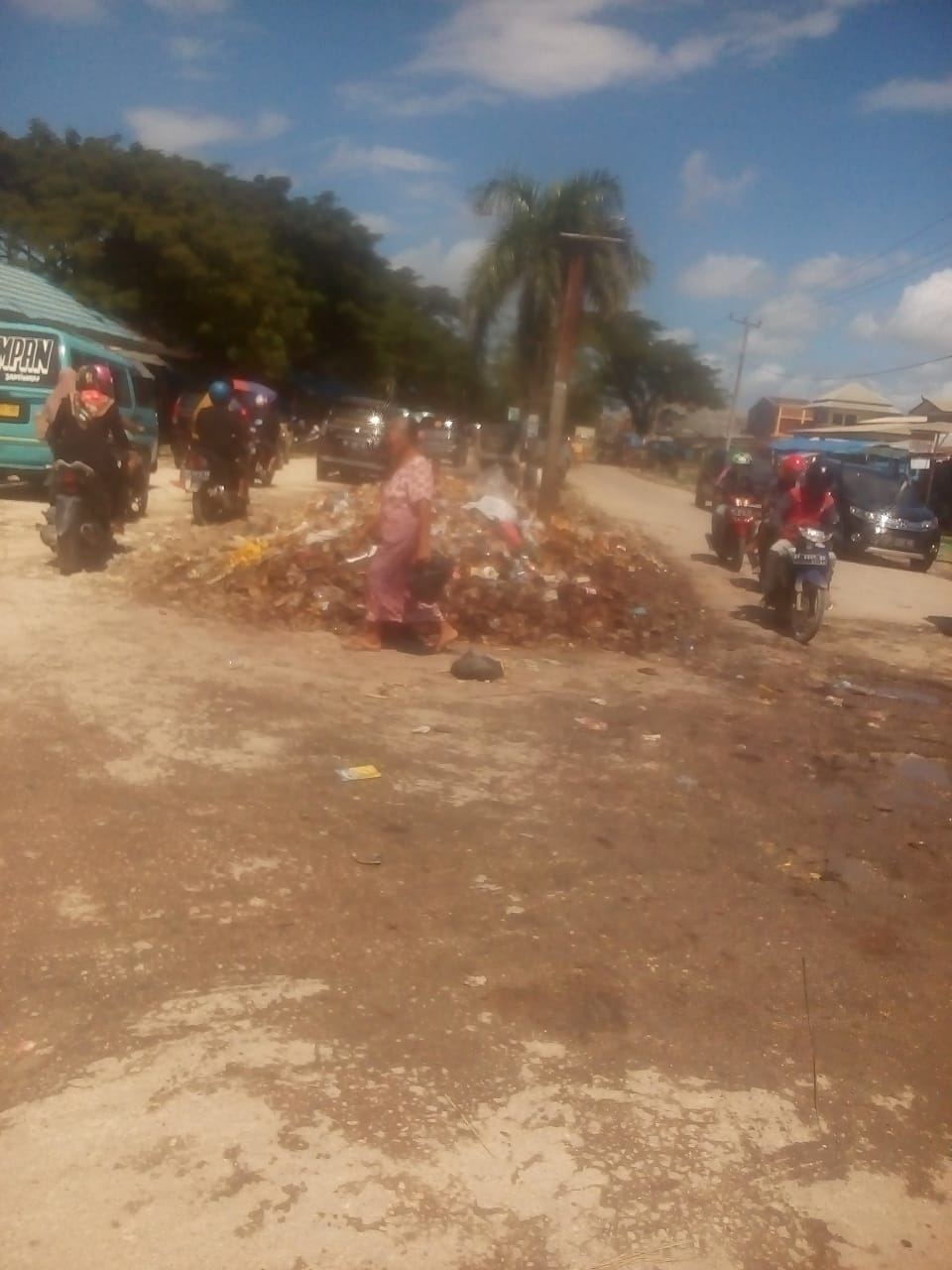Ini Keluhan Pedagang di Pasar Laino Kabupaten Muna