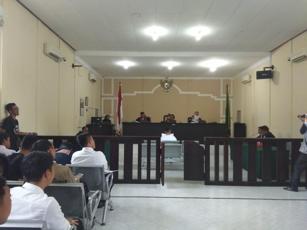 Sidang Perdana M Apriyandy, Ini Esepsi Penasihat Hukum Terdakwa