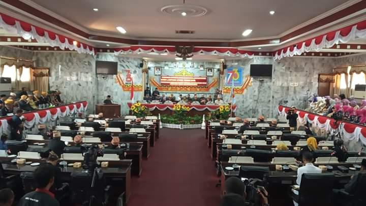 Anggota Dewan Tak Hadir Paripurna Hari Jadi Lampura, Ketua DPRD : Mungkin Mereka Malas