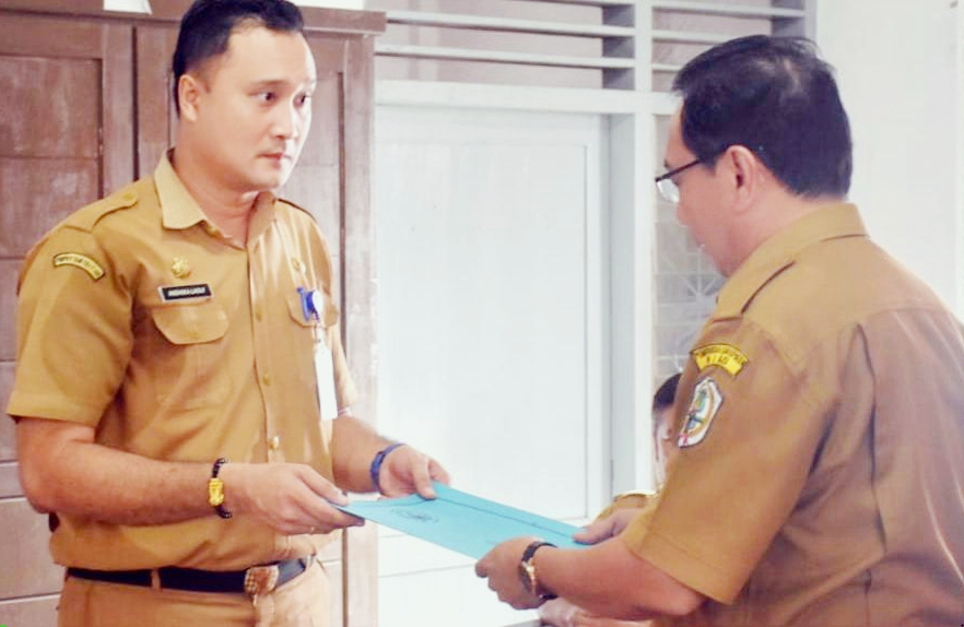 Pelaksana Tugas Inspektur Daerah Kabupaten Nias Di Jabat Andhika Perdana Laoly, SSTP, M.Si