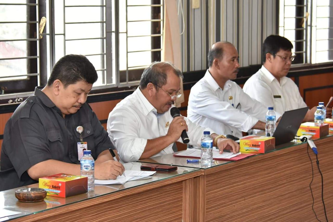Walikota Gunungsitoli Membuka Secara Resmi FGD Penyusunan Publikasi