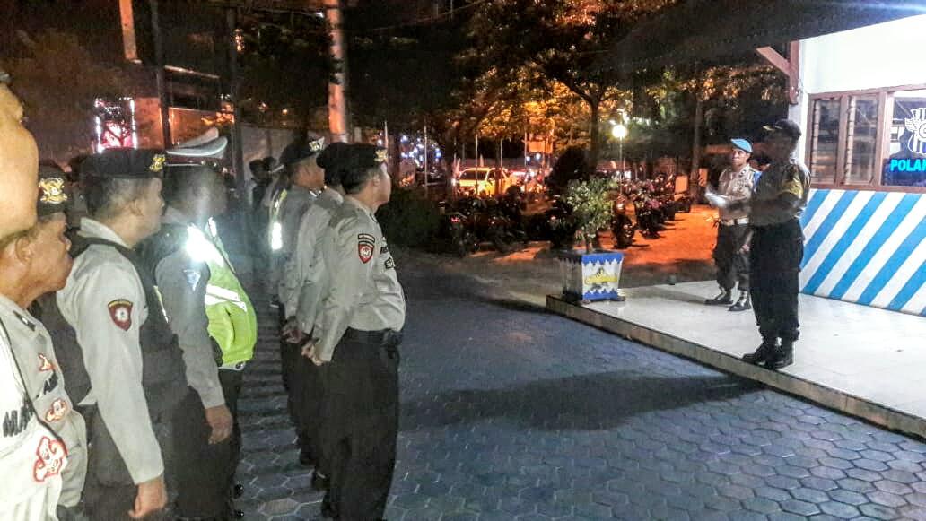 85 Personil Polres Lampung Utara Amankan Malam Idul Adha