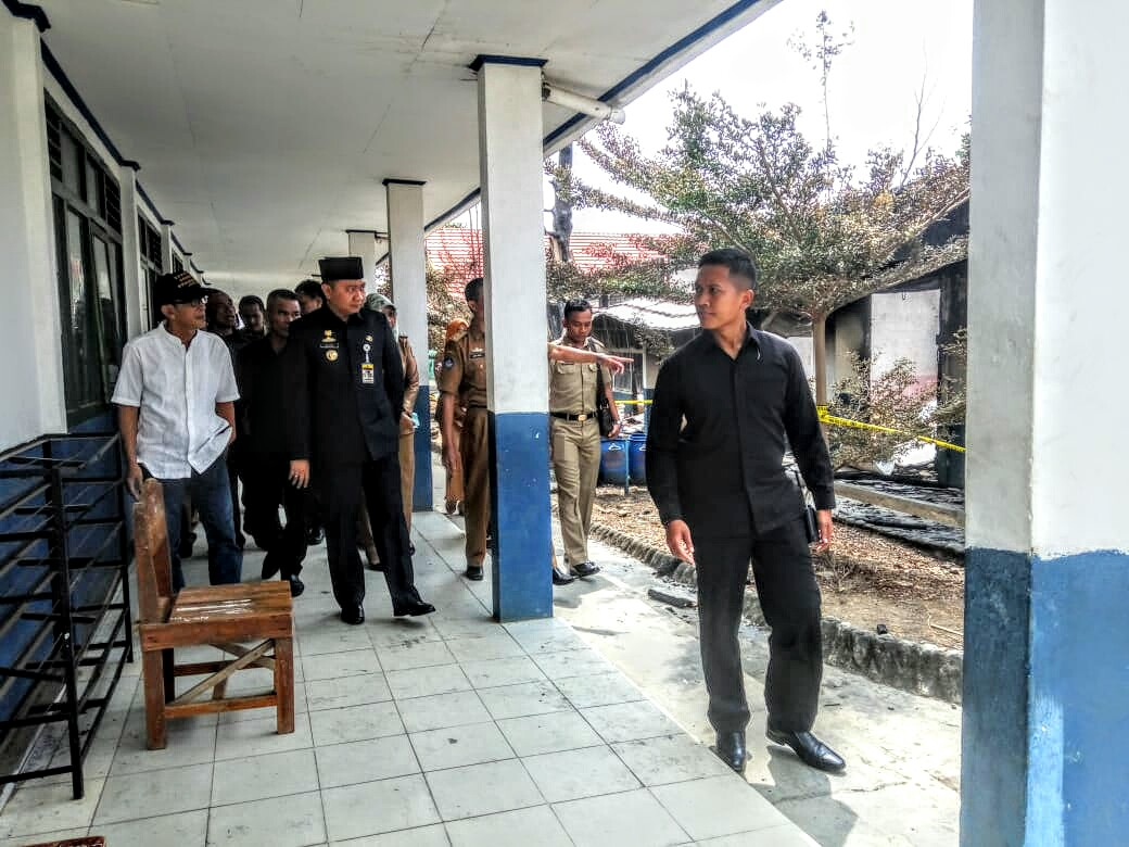 SMP N 1 Sungkai Selatan, Bupati Lampung Utara Akan Bangun Ruang Kelas Baru