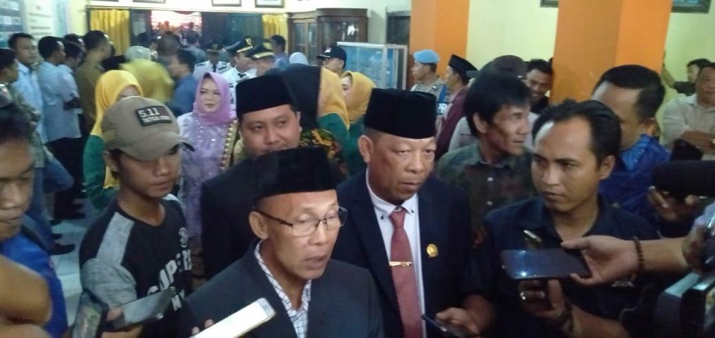 Dari 45 Anggota Dewan Lampung Utara Yang dilantik 1 Tidak Hadir