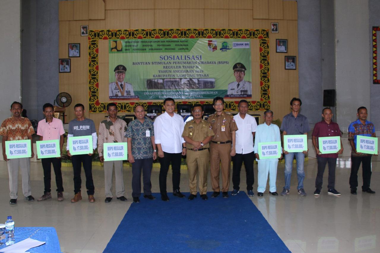 Sosialisasi BSPS Tahap II Lampung Utara