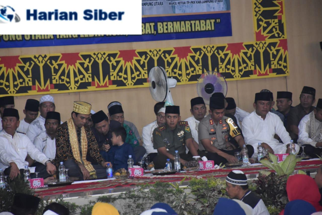 Dandim 0412 Lampung Utara Hadiri Tausyah UAS