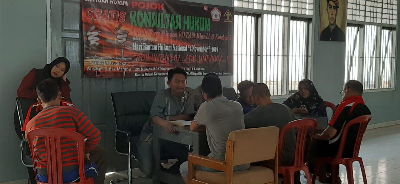 Rutan Kelas II B Kotabumi Peringati Hari Bantuan Hukum Nasional