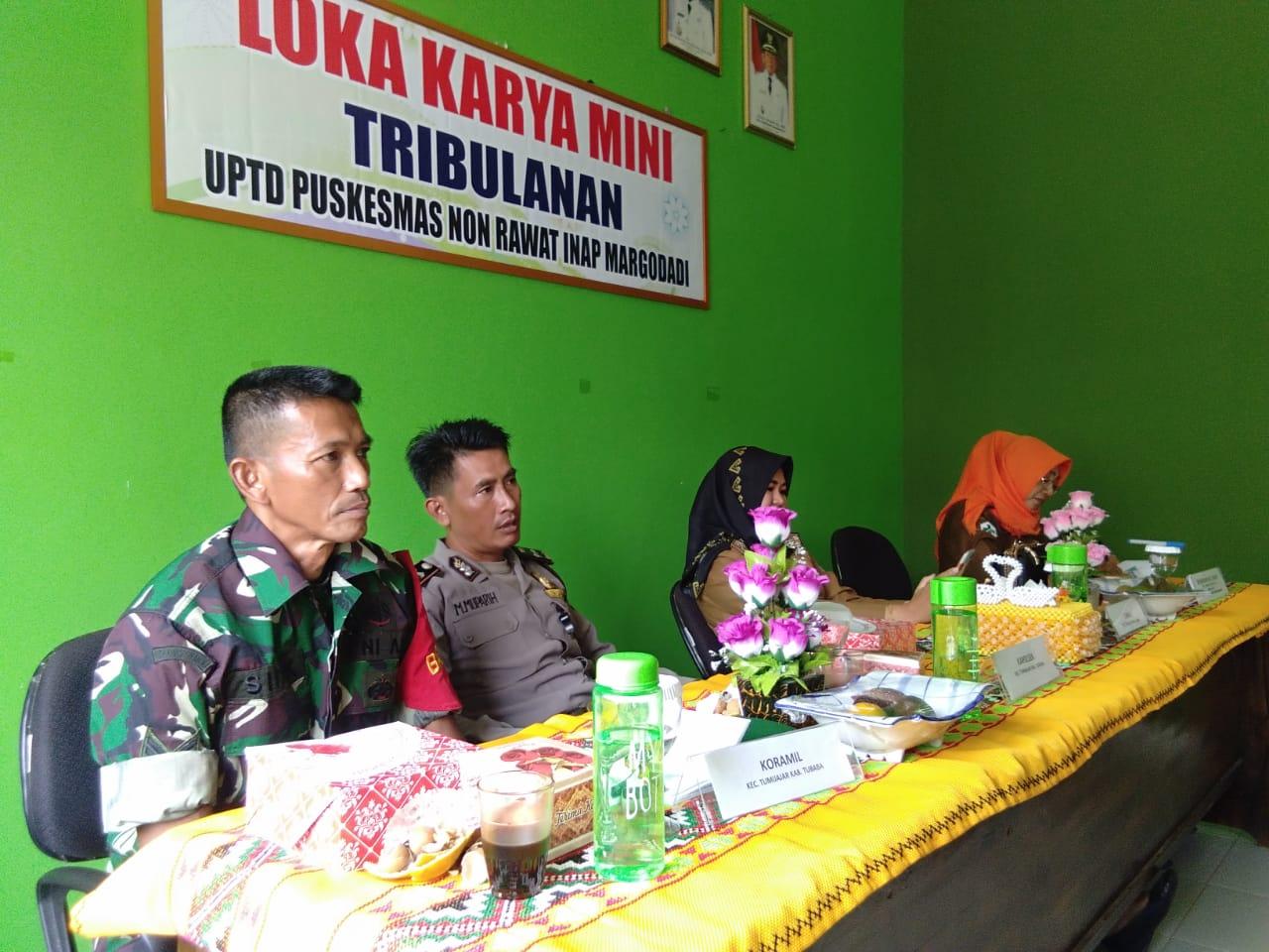 Koramil 412-05/Tbu Dukung Loka Karya Mini Tribulanan
