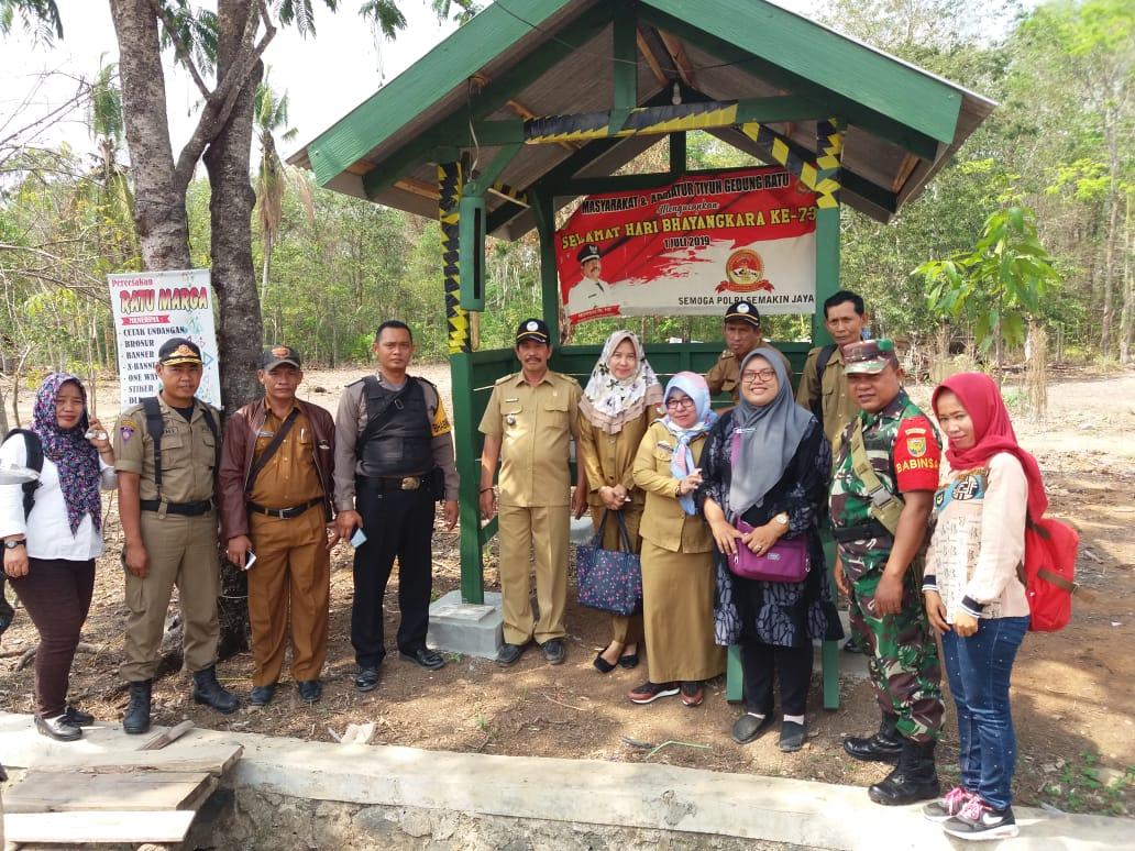 Koramil 412-05/Tbu Dampingi Tim Monitoring dan Evaluasi Dana Desa Tahap II