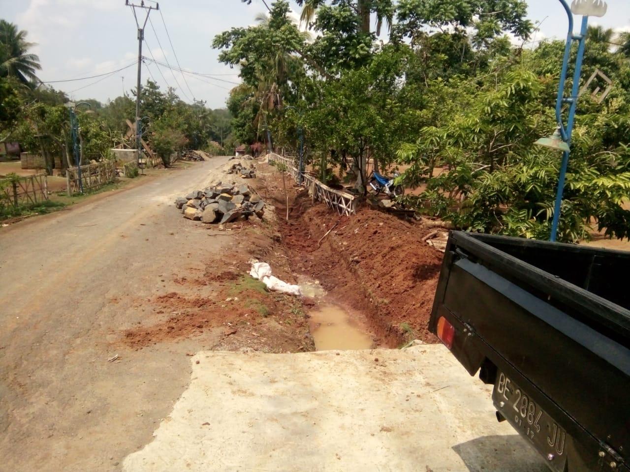 Pembangunan Desa Way Melan Dimulai