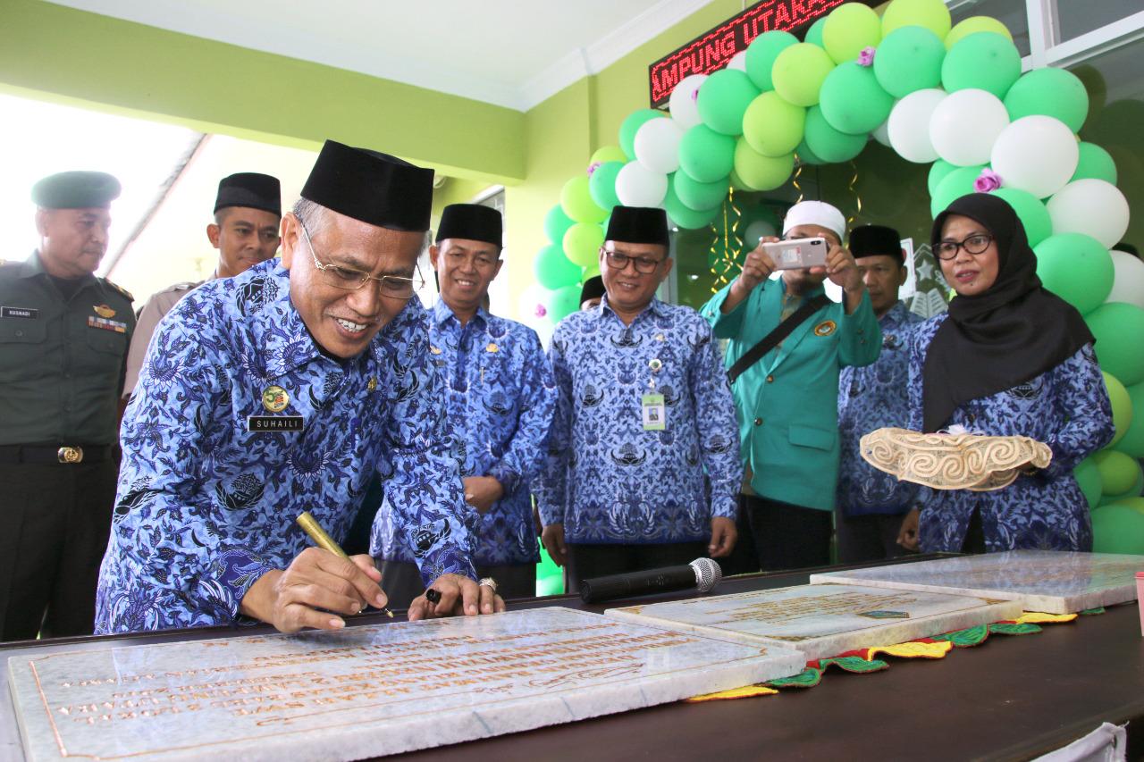 PTSP Kantor Kementerian Agama Kabupaten Lampung Utara diresmikan