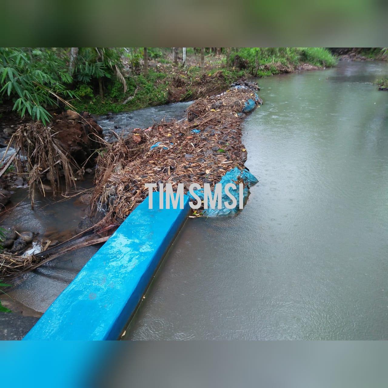 Pengerjaan Jalan Desa Tulung Balak diduga Asal Jadi