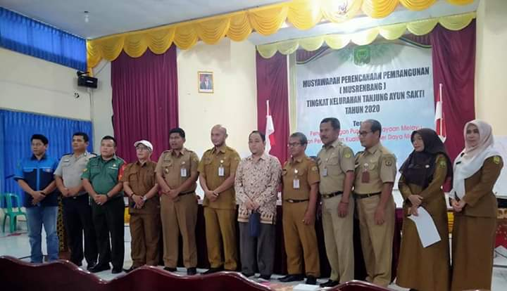 Pembangunan Infraktruktur Masih Jadi Primadona Dalam Pembahasan Musrembang Kelurahan Tanjung Ayun Sakti