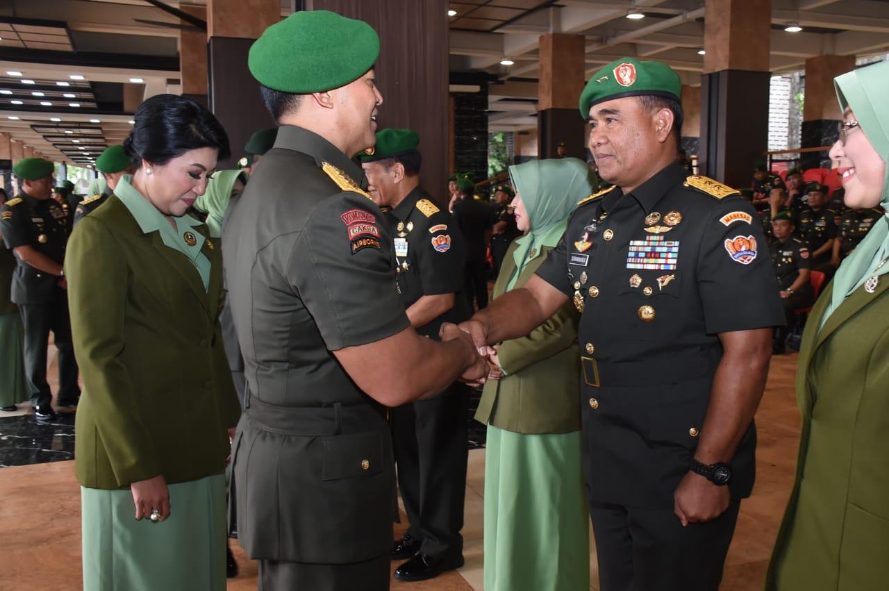 Mayjen TNI Andi Sumangerukka, Putra Makassar Dilantik Jadi Pangdam XIV/Hsn