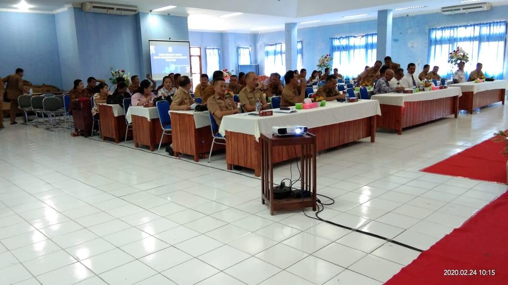 Forum Perangkat Daerah Kabupaten Nias Bidang Pemerintahan Dan Aparatur Tahun 2020