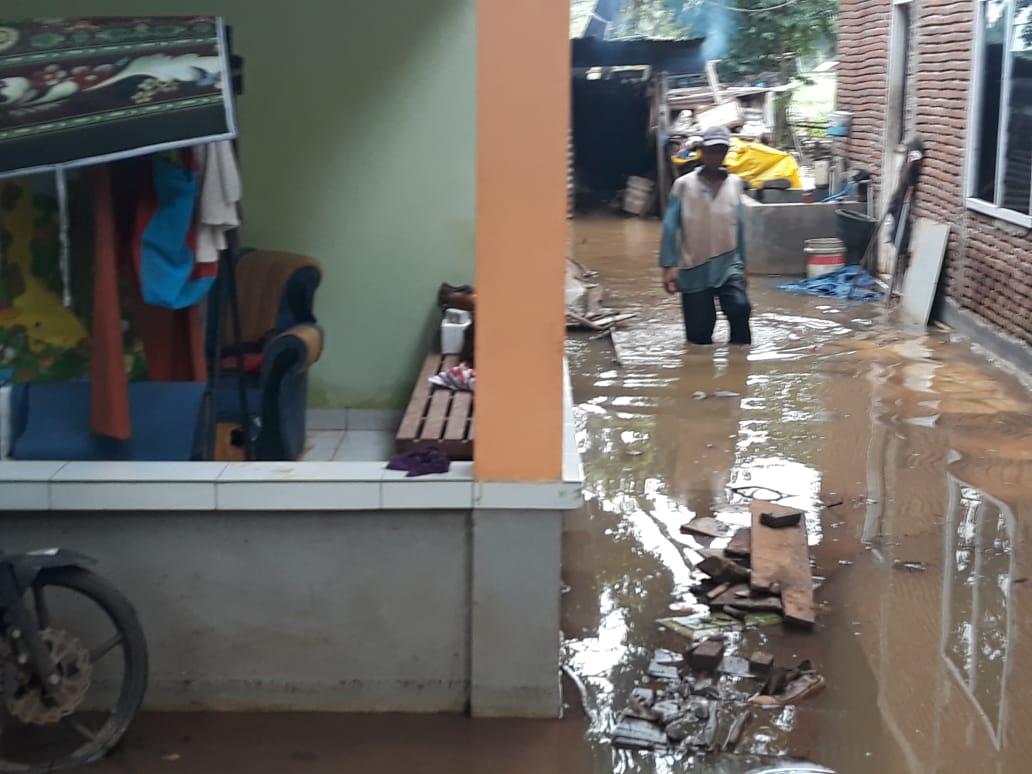 Proyek Perluasan Bandara Internasional Sultan Hasanuddin Berdampak Belasan Rumah Warga Kebanjiran