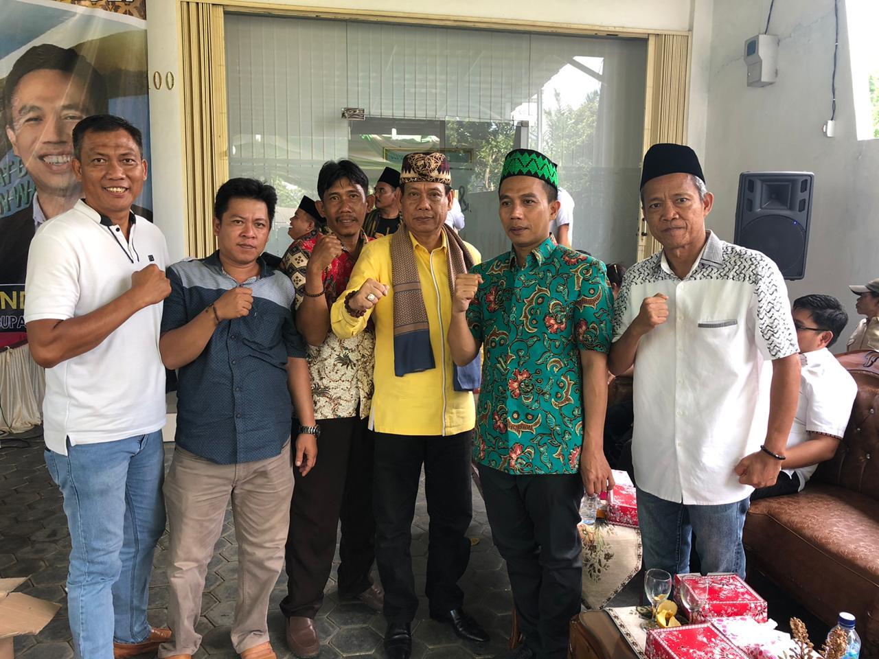 """Hi. Juanda, Balonwabup Waykanan Deklarasikan""""JUJUR"""" untuk Petani Sejahtera"""
