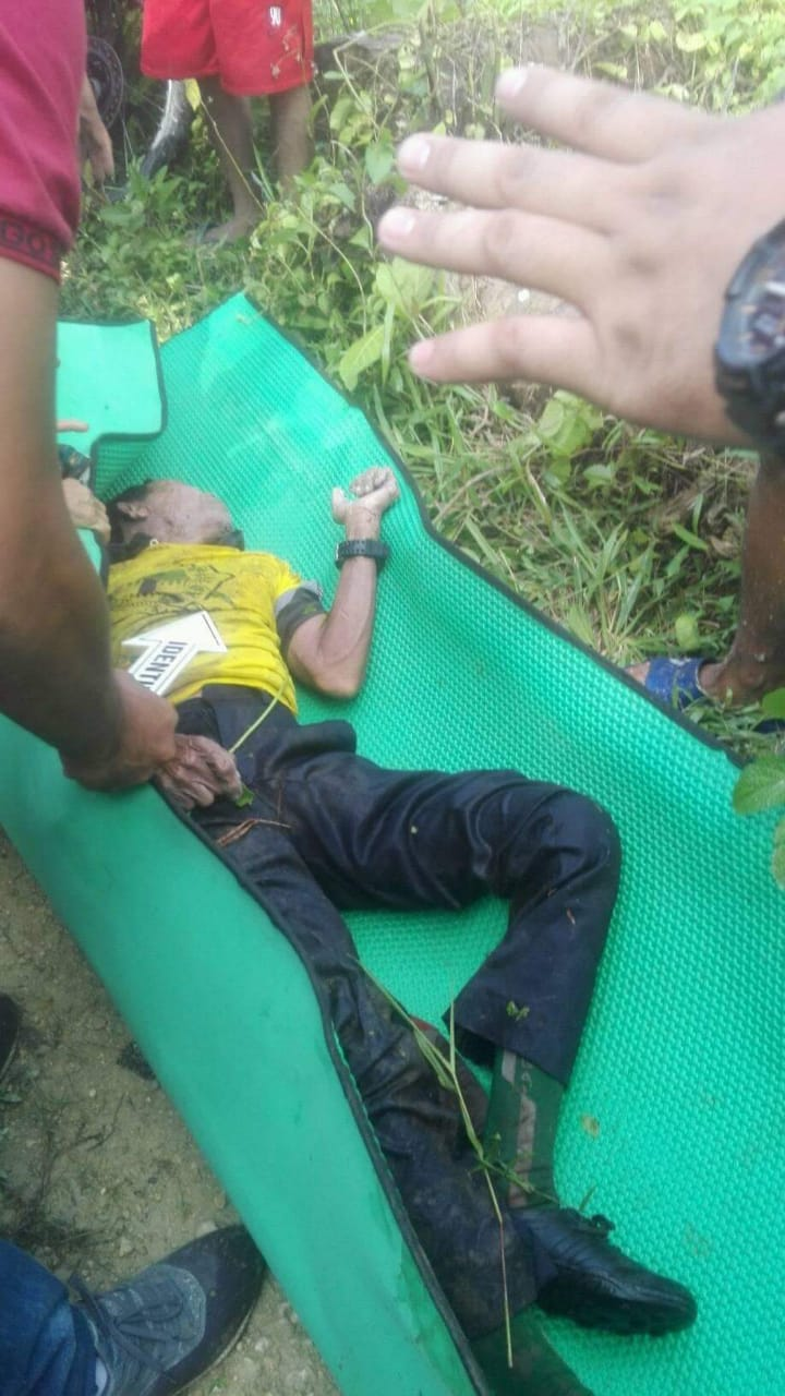 Sesosok Mayat Pria Ditemukan Di Desa Hiligawolo Kecamatan Lahewa