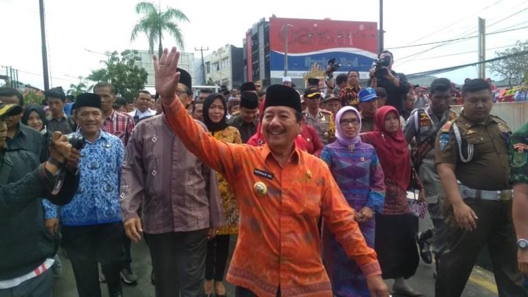 Walikota Bandar Lampung Herman HN, Dilaporkan Ke Polda Lampung