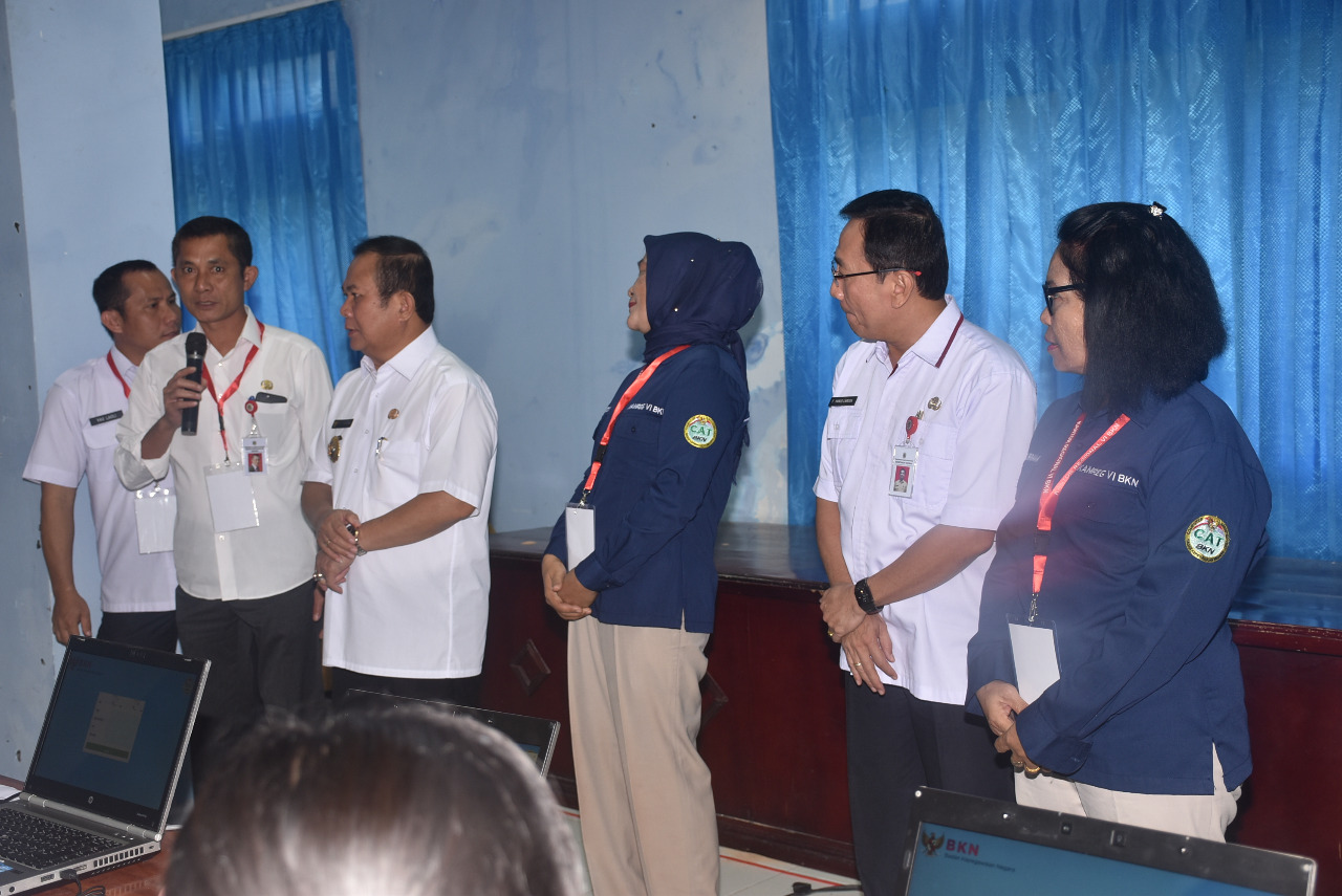 Kepala BKD Kabupaten Nias Mengucapkan Terimakasih Kepada Tim SKD CPNS 2020