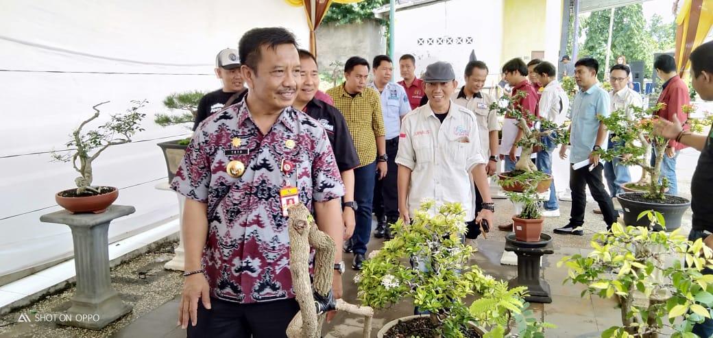 Pemda Kabupaten Lampung Utara Hadiri Kegiatan Bonzaivaganza