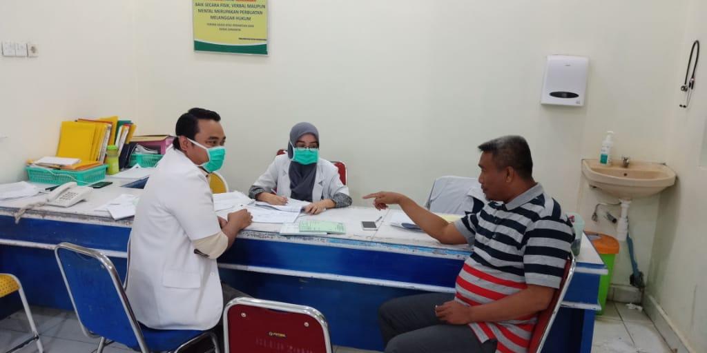 Efek Virus Corona, persediaan Masker di RSUD SIM Terbatas