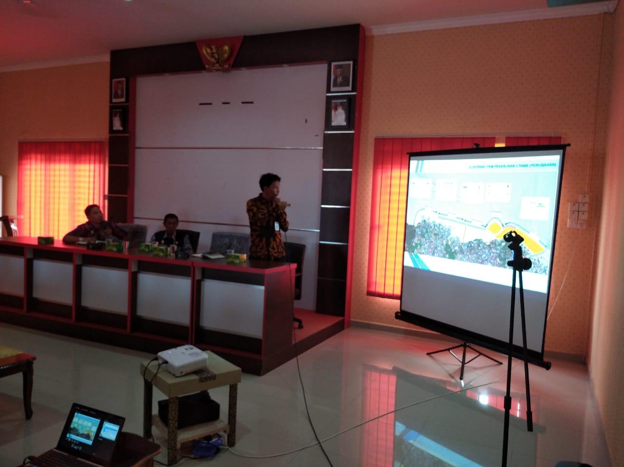 Gelar Pertemuan OPD dan Masyarakat Terkait Jalan Lingkar Kota Tanjung Pinang