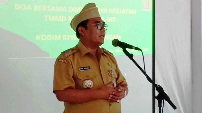 Bupati Pekalongan : NKRI Menganut Pertahanan Semesta, TMMD Kemanunggalan TNI-Rakyat