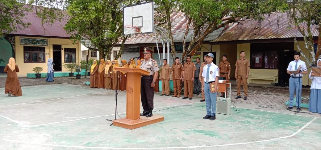 Putra Putri SMA N 3 Seunagan Raya Berminat Masuk Polisi