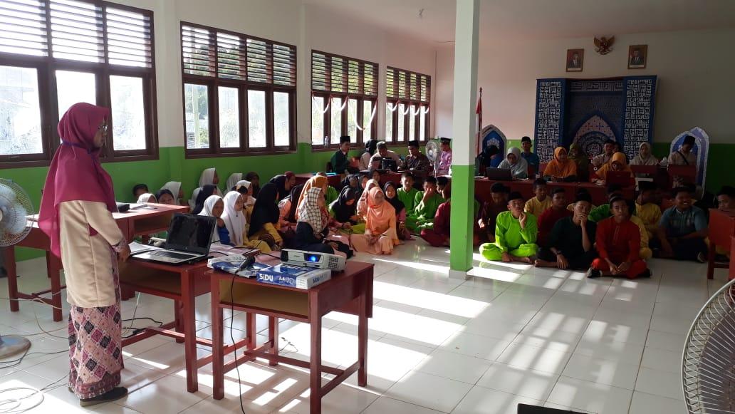 M.Nizar S.Sos Wabup Lingga Pantau Langsung Lokasi Seleksi Lomba MTQ Tingkat Kab.Lingga