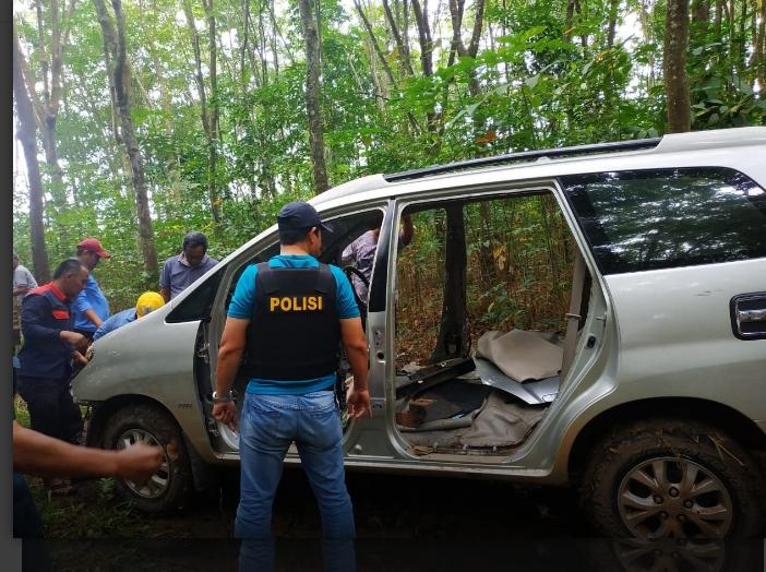 Polsek Terusan Nunyai Berhasil Ungkap Kasus Pencurian Mobil