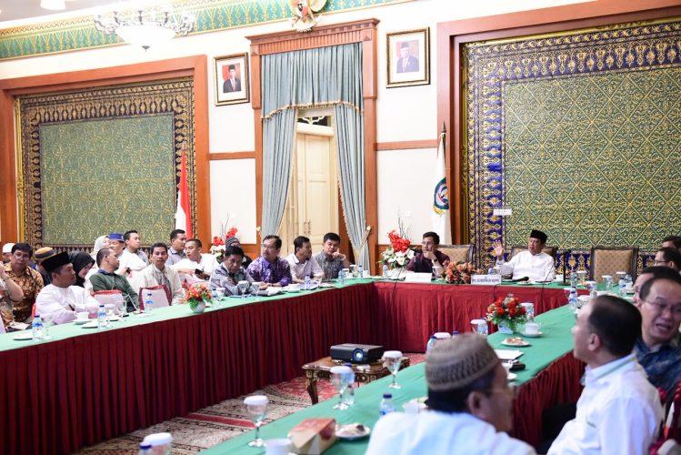 Plt Gubernur Provinsi Kepulauan Riau H Isdianto Pimpin Rapat Persiapan Musabaqah Tilawatil Quran (MTQ) ke VIII Provinsi Kepulauan Riau