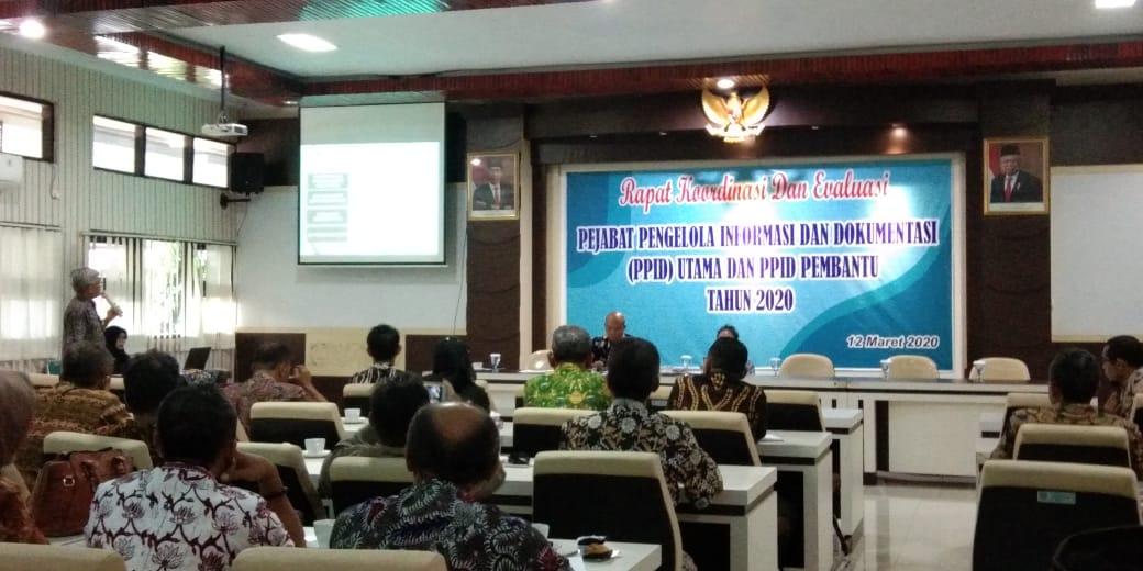 Rapat Keterbukaan Informasi Publik Di Hadiri Kominfo Jawa Tengah