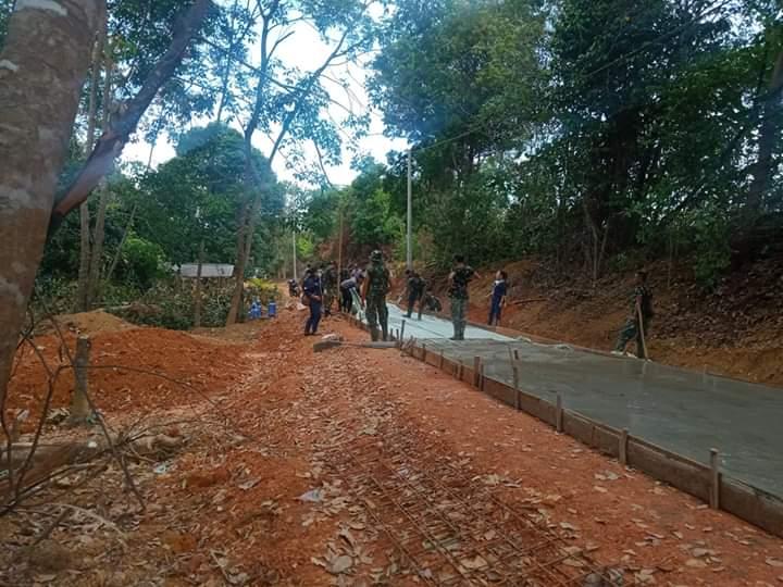 Dandim 0315/Bintan Berharap 14 April Selesai TMMD Ke 107