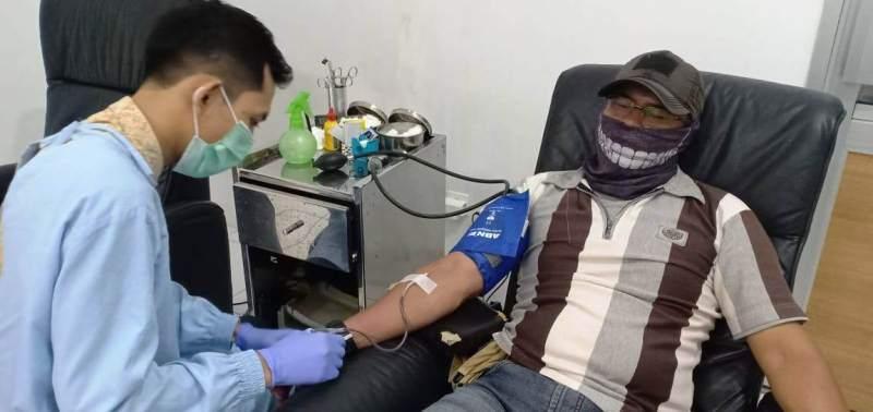 Pandemi Virus Corona, Prajurit Pekalongan Ini Tetap Subangkan Darahnya ke PMI
