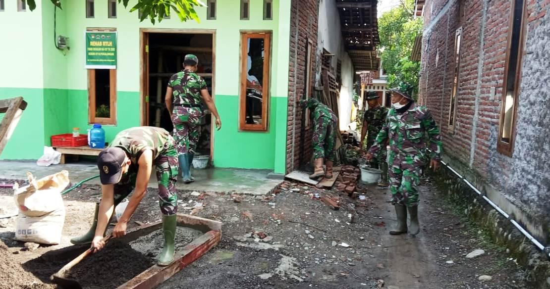 ''Jika Ditambah Personil rehab Rumah Bu Wiwik Rampung''