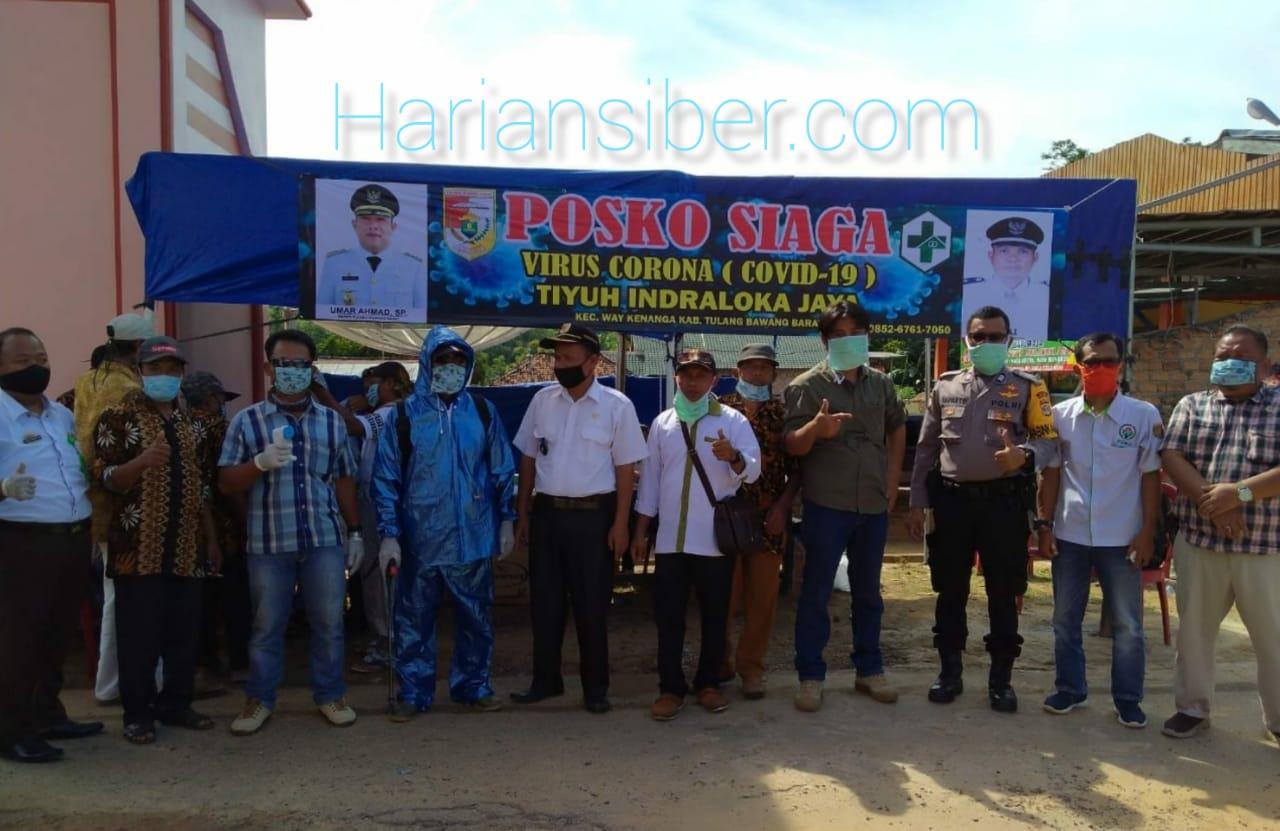 Tiyuh Indraloka Jaya Terjunkan 100 relawan siaga Covid-19