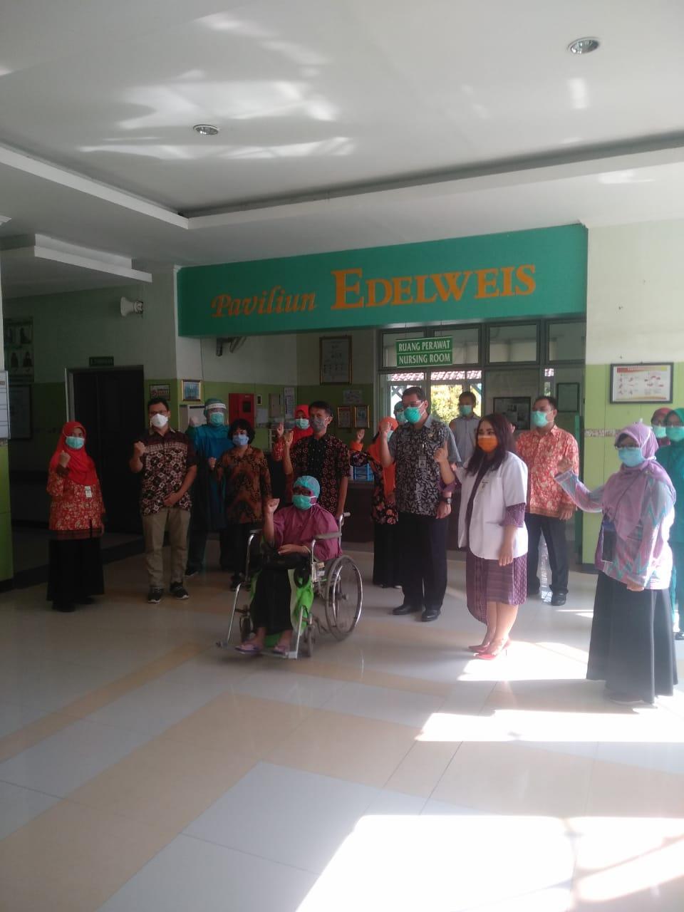 Kabar Baik, Pasien Pertama Positif Corona di Kabupaten Tegal Sembuh