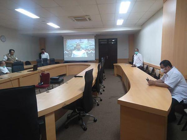 Rapat Bersama Komisi I, Pemprov Sampaikan Fungsi Pemerintahan Tetap Berjalan Efektif