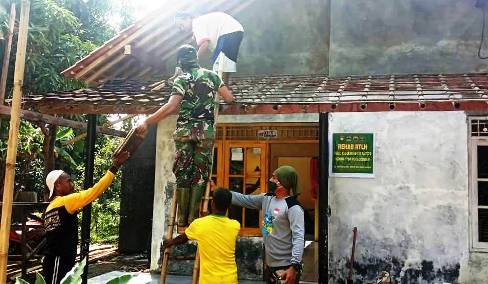 Nyaris Rampung, TNI Terus Gas Perehaban Rumah Manis