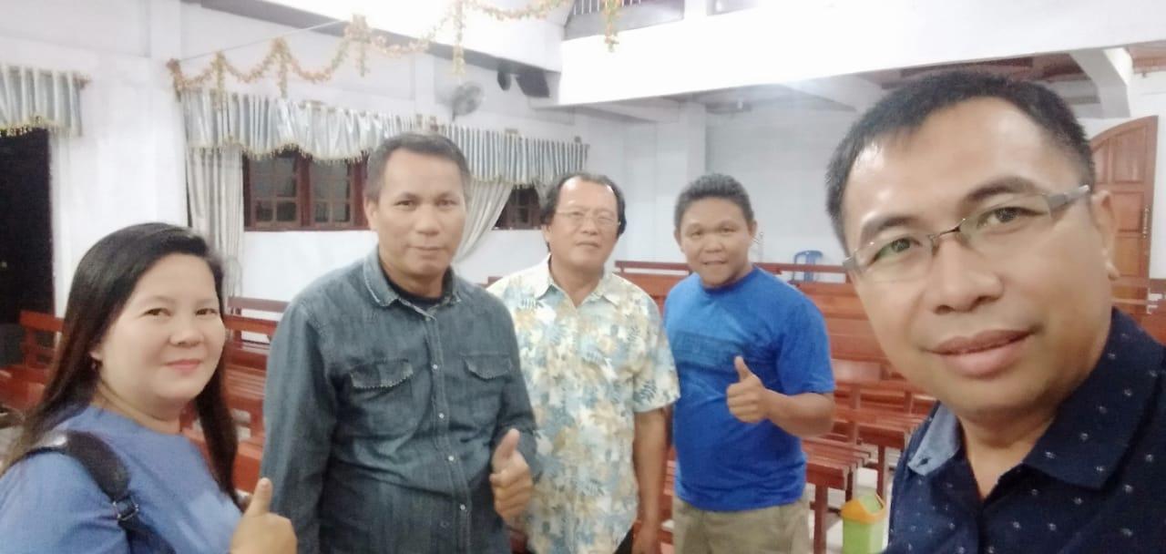 Gencar Pencegahan Covid-19,  Noldy Poluakan : Jangan Lupakan Penegakan Hukum Terkait Dana Desa