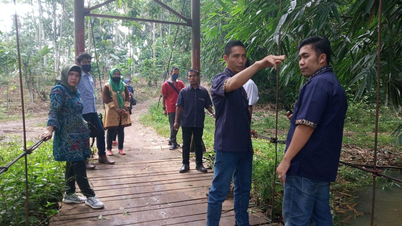 Mardiana Usulkan Pembagunan Jembatan di Desa Karangrejo