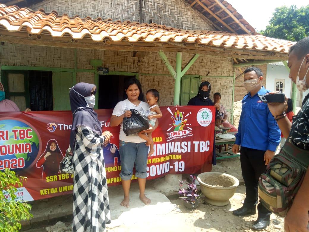Peringati Hari TB Day Sedunia, SSR TBC 'Aisyiyah Lampung Utara Gelar Bhakti Sosial