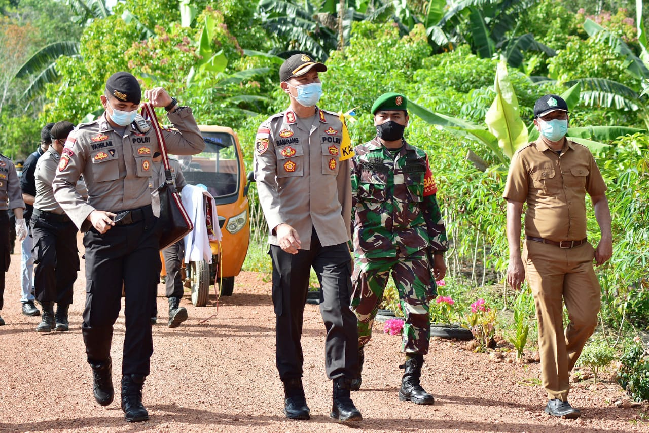 Polres Bintan Kembali Beri Tali Asih ditengah Pandemic Covid 19