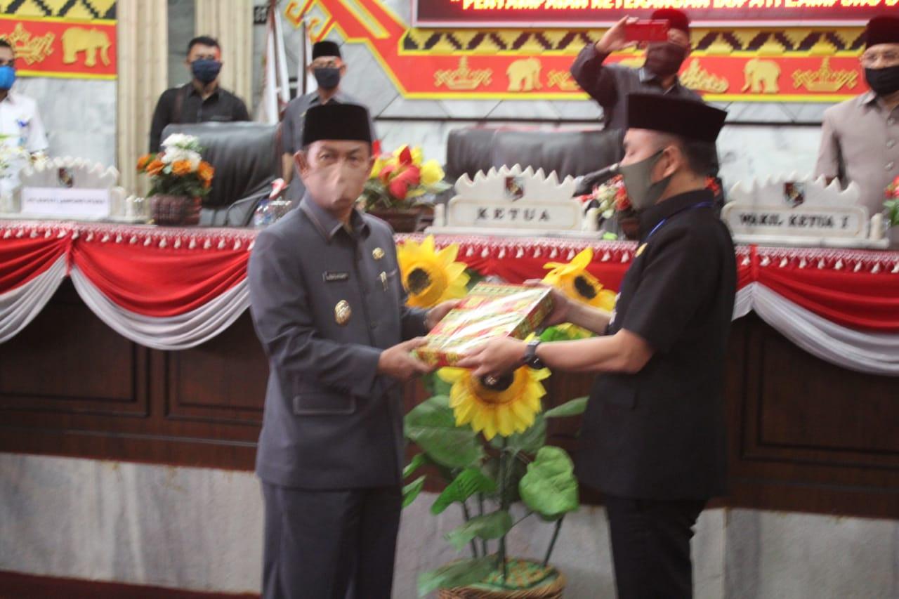 DPRD Lampura gelar Paripurna LKPJ Bupati Lampung Utara
