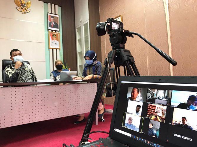Komisi I DPRD Minta Humas Provinsi Kepri Terus Sosialisasikan Cegah Covid 19