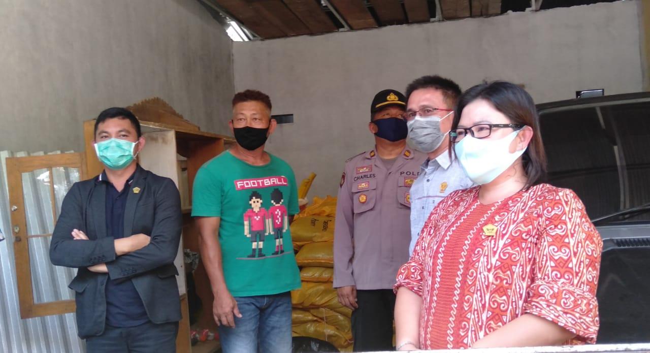 Pimpinan DPRD Minahasa Selatan dan Empat Fraksi Lakukan Sidak Bantuan Covid-19, Temukan Kejanggalan