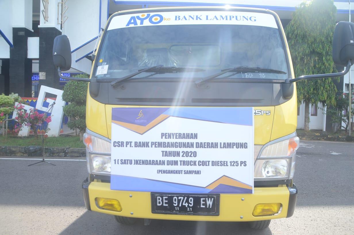 BPD Lampung Utara Serahkan Dana CSR